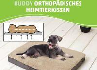 Buddy- orthopädisches Hundekissen viskoelastischer Schaumstoff Größe: L Braun