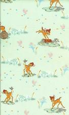 "RARE! DISNEYS BAMBI  COTTON FABRIC - BTFQ - 18""X22"""