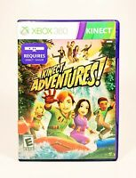 KINECT ADVENTURES (2010) Xbox 360 [COMPLETE] Good & Tested *FREE SHIPPING*
