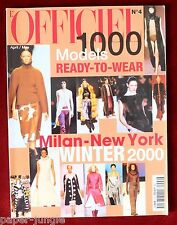 L'Officiel 1000 Models Ready to Wear  #4 Winter 2000 Milan-New York Collections