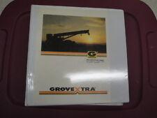 GROVE RT890 Crane PARTS Manual  CAT 3306B  07/1999