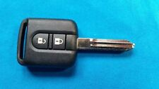 Nissan Micra Note Navara Qashqai NV200 Cabster 2 BUTTON KEY FOB REMOTE