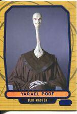 Star Wars Galactic Files Blue Parallel #29 Yarael Poof