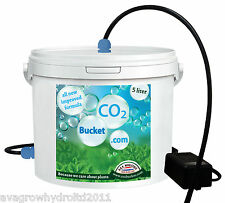 Co2 Boost Generator Bucket 5L Complete Kit Ready To Go - FREE NEXT DAY DELIVERY