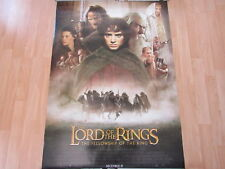 LOTR FELLOWSHIP OF THE RING POSTER BLACK RIDERS DS ORIGINAL 40 X 27 A11807