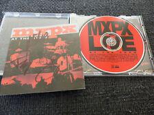 """MxPx signed autógrafos en """"at the show"""" CD inperson Look"""