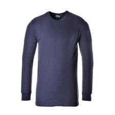 Magliette da uomo a manica lunga blu taglia XXXL