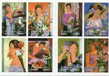 La Mujer y las Flores Carnet Completo 2003, Nuevo MNH ** Sin doblar, Ed. 4003/10