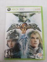 Soul Calibur IV 4 GAME XBox 360 Free Fast Shipping