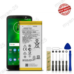 For Motorola Moto G6 XT1925-6 Replacement Battery HG30 Tools