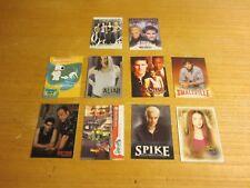 Inkworks Promo Cards Lot of 10 Trading Cards Sopranos, Buffy, Angel, Family Guy+