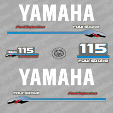 Yamaha 115 four stroke outboard (2000) decal aufkleber adesivo sticker set