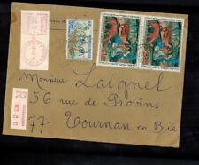 FR-1200**FRANCE  1968  R-COVER ** TO TOURNAN EN BRIE