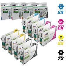 LD © Epson Reman T125 Set of 8 Ink Cartridges 2x T1251 T1252 T1253 T1254