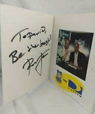 Ronnie Lott Autographed NFL Sunday Ticket Mini Folder With Picture