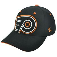 NHL LNH PHILADELPHIA FLYERS BLACK FLEX FIT SM HAT CAP