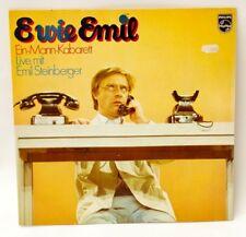 *- VINYL- LP - E wie EMIL - Ein-MANN-Kabarett - live mit Emil STEINBERGER