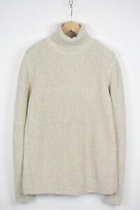 MODERN AMUSEMENT Men's SMALL Soft Tensile Knitted Turtleneck Sweater 32667_GS
