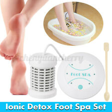 Personal Ionic Detox Foot Basin Bath Spa Cleanse Machine Array Health Care