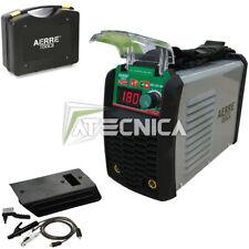 Saldatrice inverter ad elettrodo AERRE 180A MMA TIG con kit accessori e valigia
