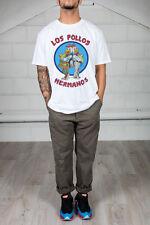 Official Breaking Bad Los Pollos Hermanos Unisex T-Shirt Licensed Merch Walter