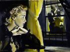 Framed canvas art print giclee Through the Window pulp art
