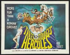 THE THREE STOOGES MEET HERCULES Movie POSTER 27x40