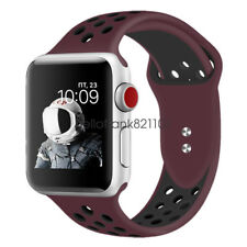 Silicone Sport Watch Band Strap For Apple Watch Series  4 / Series 3 2 1 iWatch