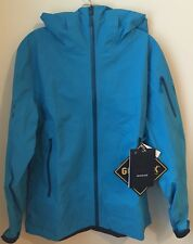NWTs Arc'teryx Women's Sentinel Gore-Tex Jacket. Size Large.  Blue Python. $550