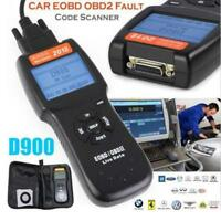 Car Fault Code Readers D900 Scanners OBD2 EOBD CAN Vehicle Diagnostic Tool