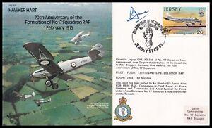 ACM SIR PATRICK HINE Signed RAF B16c Hawker Hart Bomber Series Cover