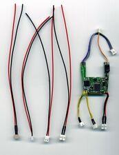 Umbau Kit für Carrera Digital 132 mit Decoder 26732 und allen 4 Anschlusskabel