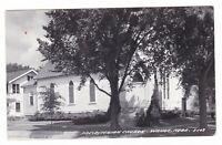 1950's RPPC WAHOO NE PRESBYTERIAN CHURCH VINTAGE REAL PHOTO POSTCARD NEBRASKA !!