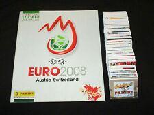 EURO 2008 AUSTRIA SWITZERLAND PANINI ALBUM VIDE + LES 535 IMAGES LOT COMPLET