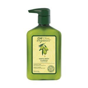 CHI Olive Organics Hair & Body Conditioner 11.5 oz / 340 ml moisturizes nourish