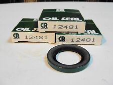 LOT OF 3  NEW CHICAGO RAWHIDE OIL SEALS 12481 CR Free Shipping