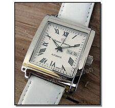 weiße Herrenuhr/Damenuhr: Rothenberg Automatik-Uhr limitiert 725-weiß