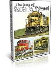 Best of Santa Fe, Midwest - New to DVD Midwest Video Productions Railroad Train