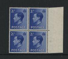 1936 2½d Blue Keviii U/Mint Constant Variety. Sg 460