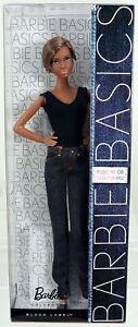 Black Barbie Doll Basics Jeans Model No. 8 Collection 2 #T7743 New NRFB Mattel