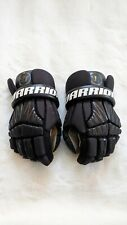 New listing Nice! WARRIOR Burn Youth XS Lacrosse Pair Gloves Black BNGJR18BKXS