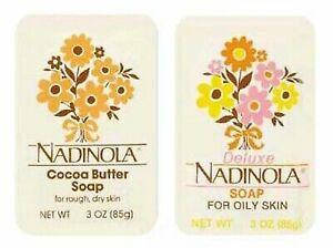 Nadinola (Cocoa Butter Soap & Deluxe Soap for Oily Skin)