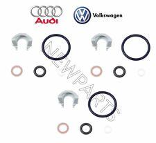For Audi Q7 VW CC Touareg 3.6L V6 Upper Set of 3 Fuel Injector Seal Kits Genuine