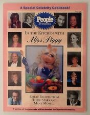 People Weekly Presents In The Kitchen With Miss Piggy Celebrity Cookbook 1996