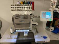 used commercial embroidery machines