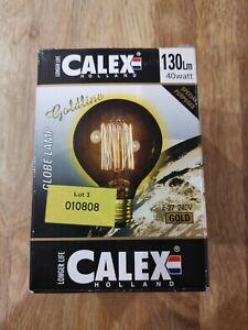 Calex Holland Gold Light Buld 130m 40watt E-27 240V - John Lewis