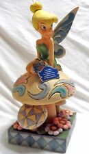 Disney Jim Shore Tinkerbell Figurine Pixie Dust Make Your Garden Grow