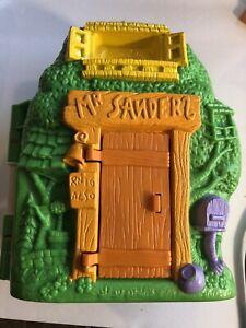 Vtg 90s Disney Winnie The Pooh Mr. Sanderz Tree House Toy Tree House Only
