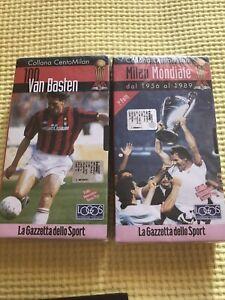 VHS NEW Collana CentoMilan -Mondiale Cazzetta Dello Sport Sealed Nuovo