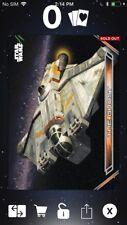 Topps Star Wars Digital Card Trader Galactic Files Spacecraft Ghost Insert Award